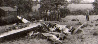 Crash site in 1944